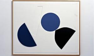 Alan Reynolds's painting 'Ascending 1972'
