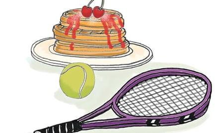 Breakfast: Roger Federer