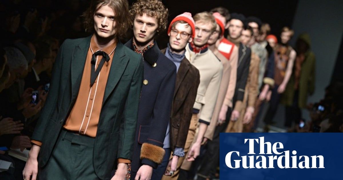 Gucci S Menswear Collection Defies Expectations After Giannini Exit Gucci The Guardian