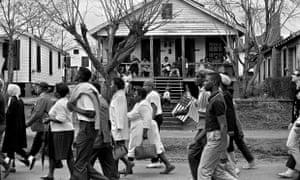 Selma marchers, March 25, 1965