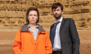 Olivia Colman and David Tennant in Broadchurch series two