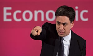 Ed Miliband makes a speech on the economy