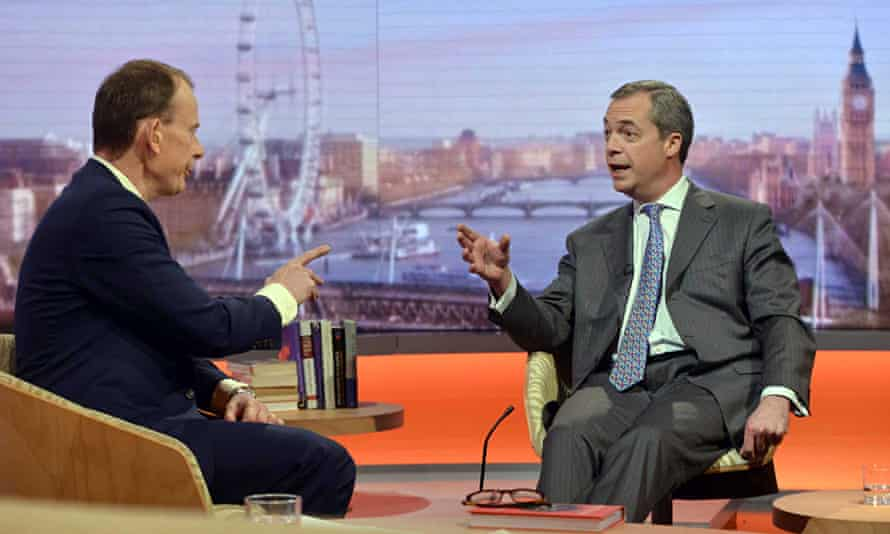 Nigel Farage on Andrew Marr show