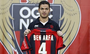 reputable site cd39d d1dec Hatem Ben Arfa not eligible to play for Ligue 1 side Nice ...