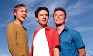 Craig Kelly, Aidan Gillen and Charlie Hunnam in Channel 4's Queer As Folk