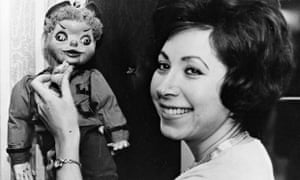 Roberta Leigh with puppet
