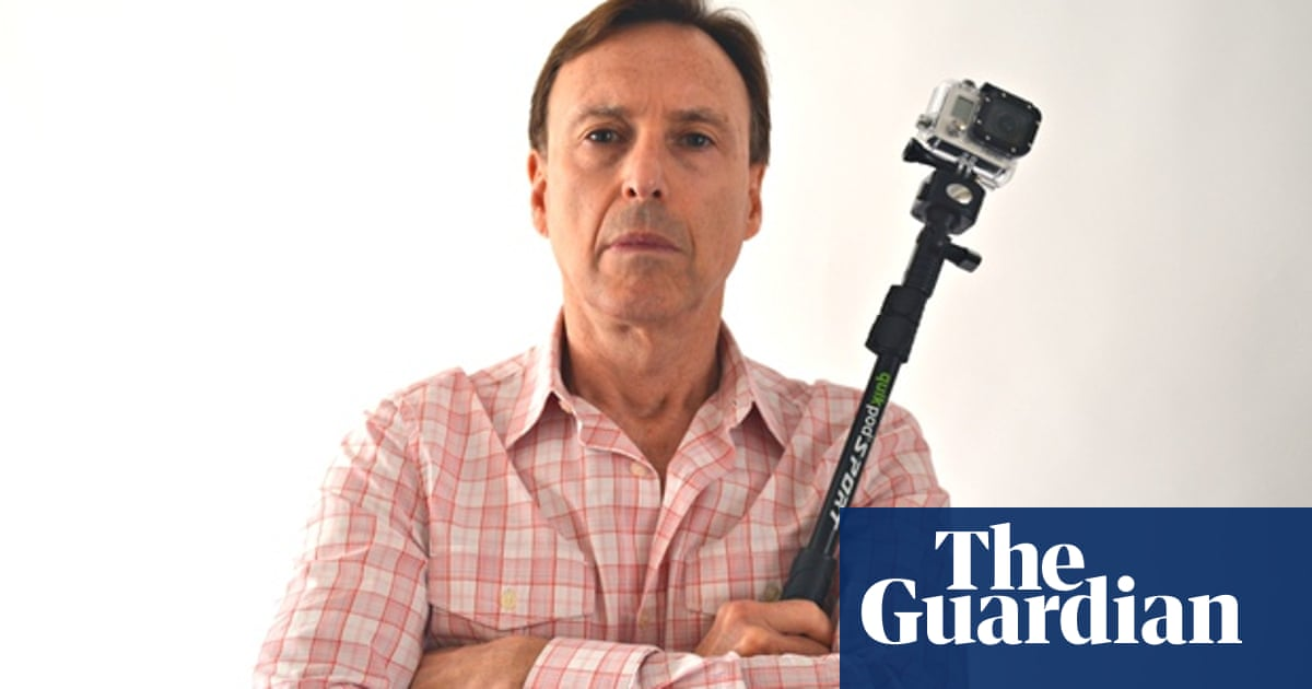 Is this man responsible for inventing the selfie stick?