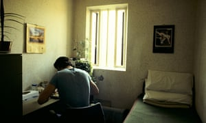Prisoners can be frightened at leaving a place 'where someone cares whether I am dead or alive'