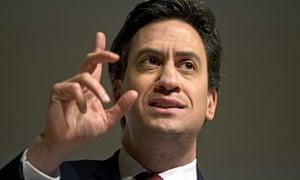 Ed Miliband close-up