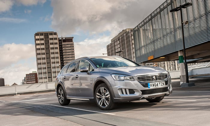 On The Road Peugeot 508 Rxh Blue Hdi 180 Car Review Technology