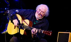 Guitarist John Renbourn, who played at a surprise party for a fan