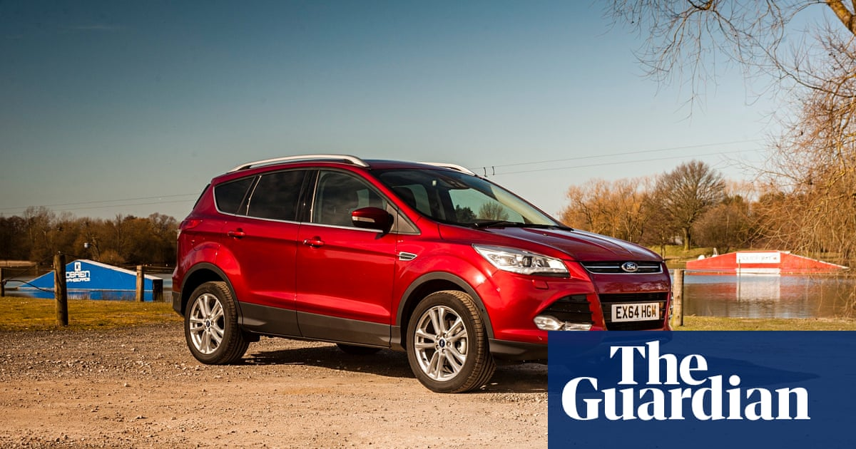 on the road ford kuga car review technology the guardian