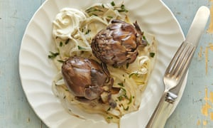 Yotam Ottolenghi's baked baby artichokes with fennel and lemon