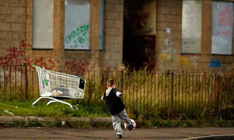 Run-down street, Glasgow