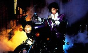 Purple Rain film and album poster