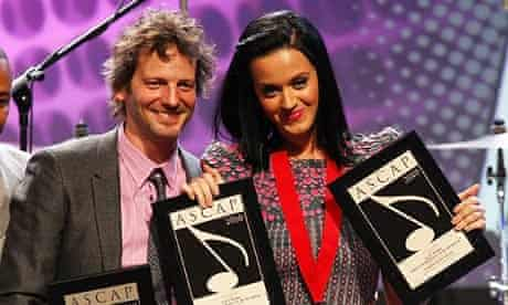 Dr Luke with Katy Perry at the ASCAP Pop Music Awards