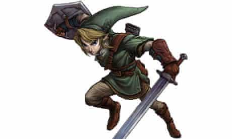 Link from the Nintendo game Zelda