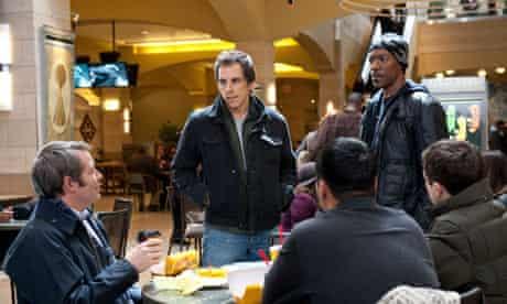 Matthew Broderick, Ben Stiller and Eddie Murphy in Tower Heist