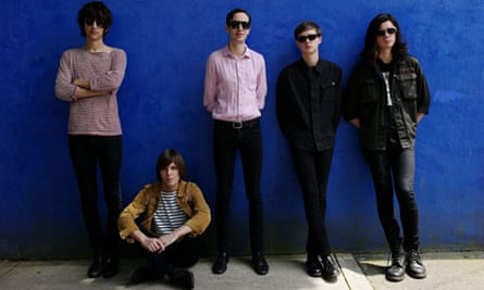 British rock band The Horrors in Mexico City