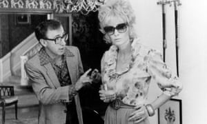 Woody allen and Mia Farrow in Broadway Danny Rose