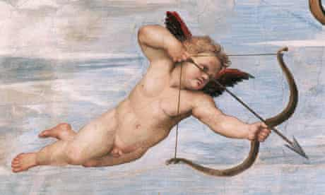 Cupid detail from Raphael's The Triumph of Galatea