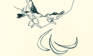 Birds 2012 by Tracey Emin (detail)