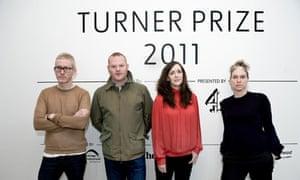 Turner prize 2011 nominees