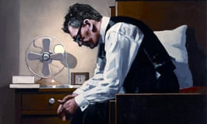 Self-portrait of Jack Vettriano, The Weight
