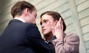 Keira Knightley in The Children's Hour at the Comedy theatre, London