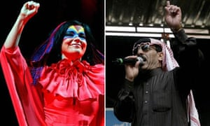 Bjork and Omar Souleyman