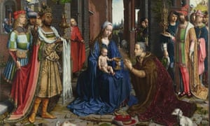 Detail from Jan Gossaert's The Adoration of the Kings (1510-15)  The Adoration of the Kings