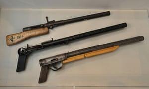 homemade guns from Sarajevo's Historical Museum