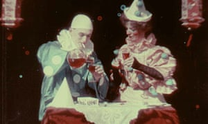 Still from Kinemacolor's Two Clowns (1906)