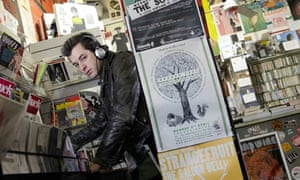 Mark Ronson in Rough Trade West