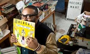Mista Jam at Rob's Records