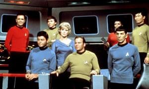Star Trek TV series cast