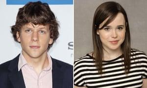 Jesse Eisenberg Ellen Page