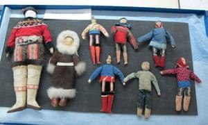 Polar Museum Greenlandic dolls