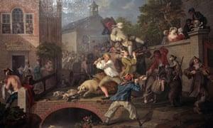 William Hogarth Election