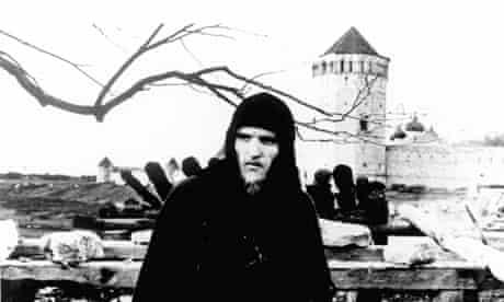 Film still from Tarkovsky's Andrei Rublev