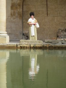 Flavia at the Great Bath