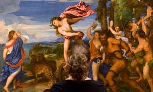 Titian's Bacchus and Ariadne in the National Gallery