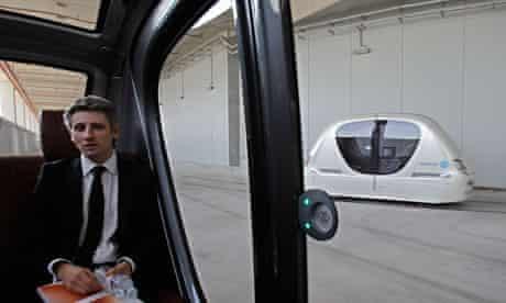 Masdar City driverless pod
