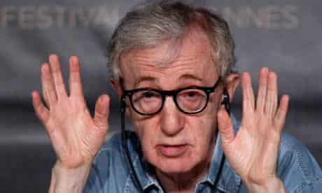 Woody Allen at Cannes 2011