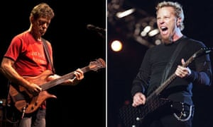 Lou Reed and Metallica's James Hetfield