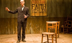 Finbar Lynch in Faith Healer at Bristol Old Vic