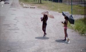 Jon Rafman, Google Street View, Via Valassa, Rho, Lombardy, Italy