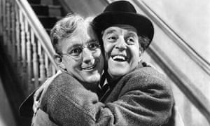 Alec Guinness and Stanley Holloway in The Lavender Hill Mob