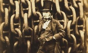 Isambard Kingdom Brunel by Robert Howlett
