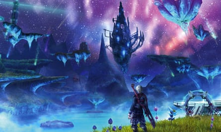 Still from the game Xenoblade Chronicles